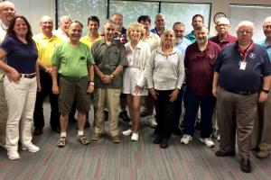 Section ARES Leaders in attendance at Annual Meeting, May 27, 2017
