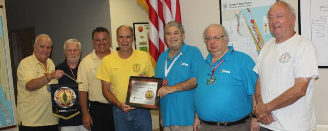 Vero Beach ARC designated as a Special Service Club